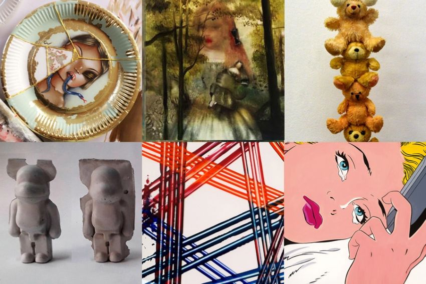 Artworks that enhance the sofa's fabric