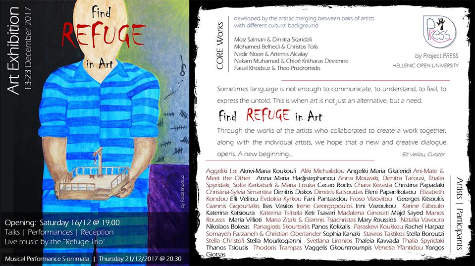 Find Refuge in Art