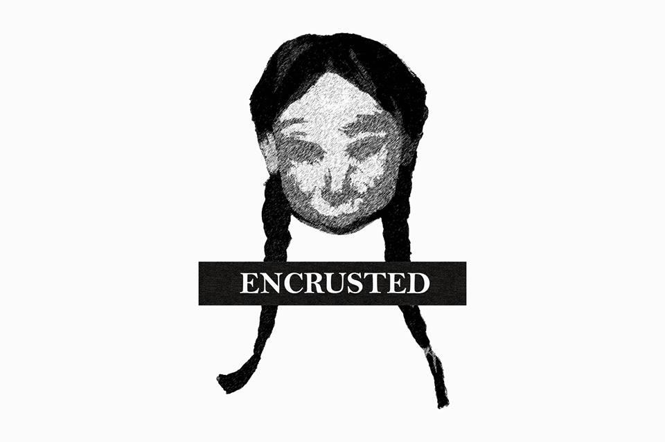 Encrusted