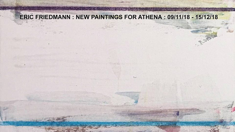 New Paintings for Athena