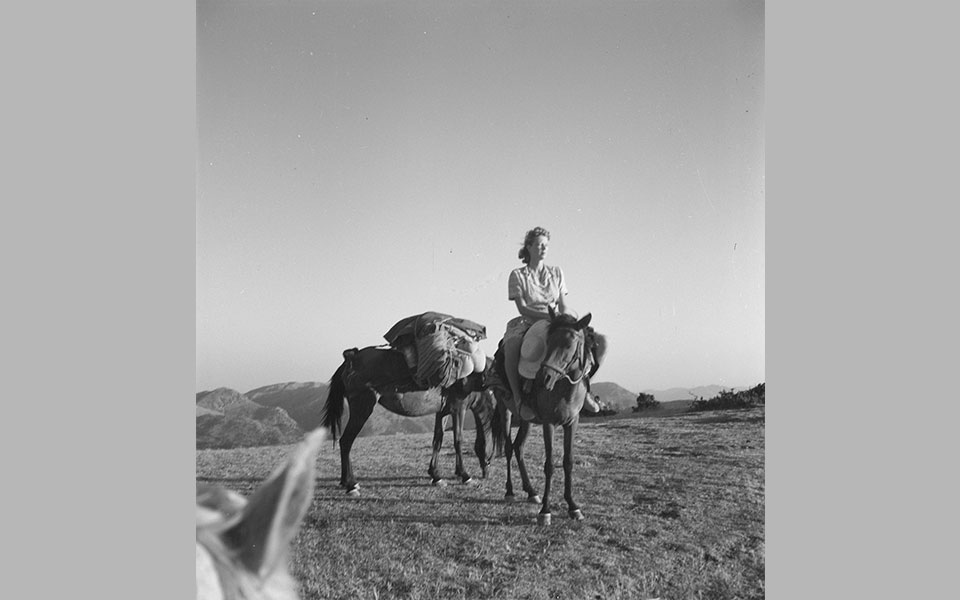 Joan Leigh Fermor. Φωτογράφος και αγαπημένη