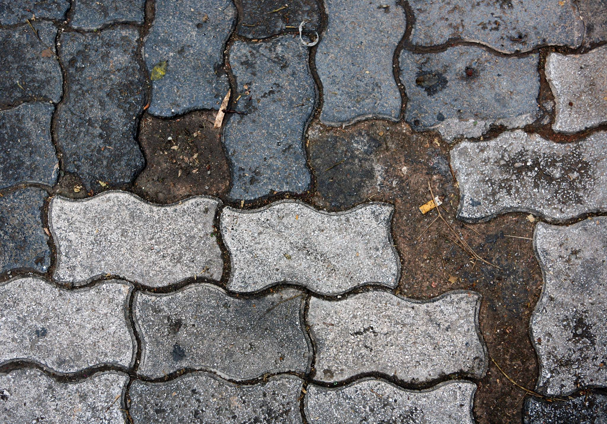 Under the paving stones, the river