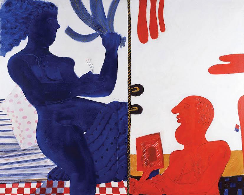 Αλέκος Φασιανός • Βαγγέλης Χρόνης 30 χρόνια φιλίας Ζωγραφική και ποίηση