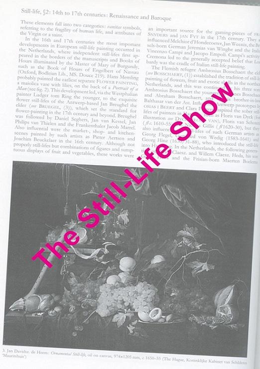 The Still-Life Show