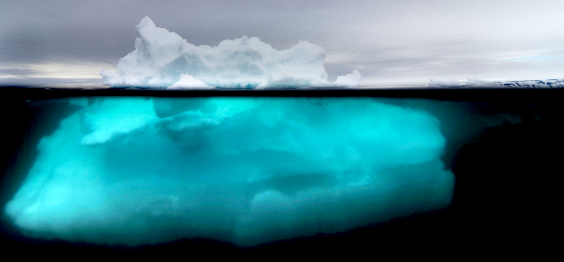 Icebergs from Genesis to Extinction