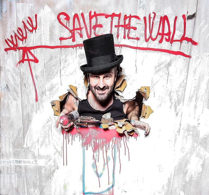 Solo Exhibition - Mr. Savethewall