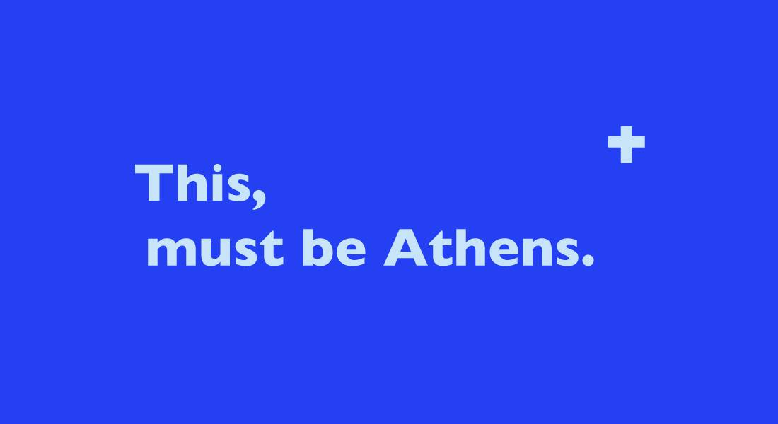 This, must be Athens - Public Art Festival